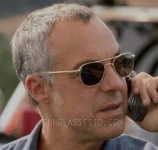 Titus Welliver wears Randolph Engineering Aviator sunglasses in the first season of Amazon tv series Bosch.