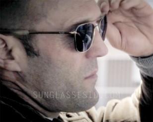 Jason Statham wearing Randolph Engineering Aviator sunglasses