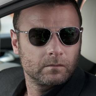 Liev Schreiber wears Randolph Engineering RE Aviator sunglasses in Ray Donovan