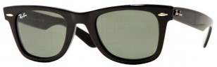 Ray-Ban 2140 Wayfarer sunglasses with black frame