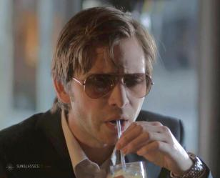 Aaron Stanford wearing Ray-Ban 3025 sunglasses in How I Got Lost
