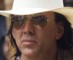 Nicholas Cage wearing Ray-Ban 3025 sunglasses in Bangkok Dangerous