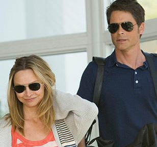 Rob Lowe wearing the Ray-Ban 3025 sunglasses in Brothers and Sisters, ep. 301