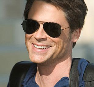 Rob Lowe, as Senator Robert McCallister, wearing the Ray-Ban 3025 sunglasses