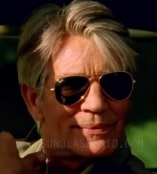 Eric Roberts makes a cameo in Rihanna's music video B*tch Better have My Money, wearing a pair of Ray-Ban 3025 Large Aviator sunglasses.