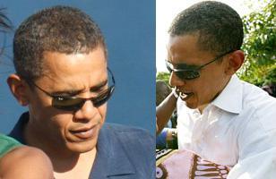 ddbb55c98a President Barack Obama wearing Ray-Ban 3217 sunglasses