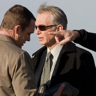 Billy Bob Thornton wearing Ray-Ban 3302 sunglasses