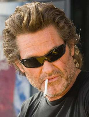 Kurt Russell wearing Ray-Ban 4071 sunglasses in the movie Death Proof