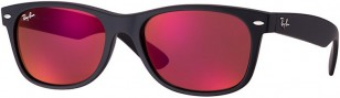 Ray-Ban New Wayfarer Flash red mirror lens RB2132 622/2K 55-18
