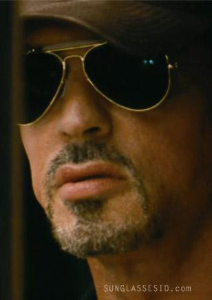 Sylvester Stallone wearing Ray-Ban Outdoorsman sunglasses in The Expendables