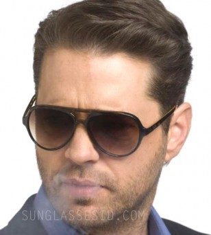 Jason Priestley wears Ray-Ban RB4125 Cats 5000 sunglasses in the tv series Call Me Fitz.