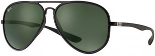 Ray-Ban RB4180 Liteforce, black frame, green lenses, color code 601S71 59-13