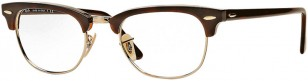 Ray-Ban RB5154 Clubmaster Optics 2372 49-21 Red Havana (tortoise frame)