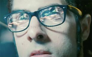Jason Schwartzman wearing Ray-Ban 5184 eyeglasses in the movie Scott Pilgrim vs.