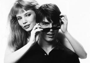 Tom Cruise wearing Ray-Ban Wayfarer sunglasses