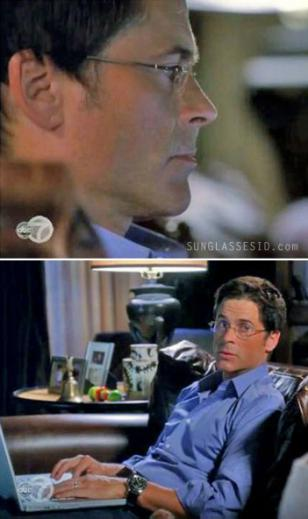 Rob Lowe wearing Robert Marc rimless optical style 378 in Brothers and Sisters