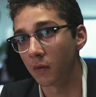 Shia LaBeouf wearing Shuron Ronsir Zyl glasses in the movie Bobby