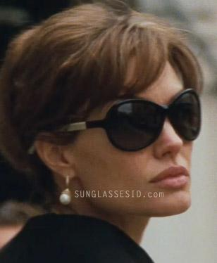 Angelina Jolie wearing TD Tom Davies 13435 sunglasses in The Tourist