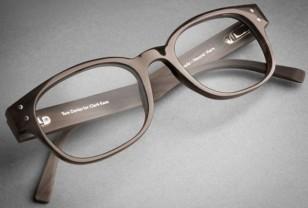 Tom Davies Bespoke Natural Horn eyeglasses Made for Clark Kent