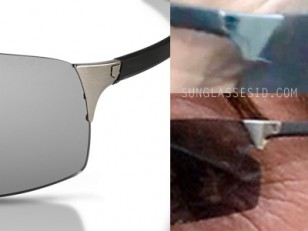 The glasses in the film are very similar to original Reflex sunglasses, but the temples and lenses are slightly different