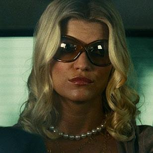 Ivana Milicevic wearing Tom Ford Whitney sunglasses in Witless Protection