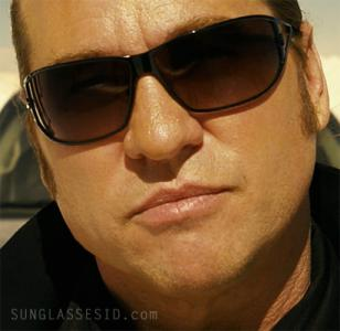 Val Kilmer with Versace 2040 sunglasses in MacGruber.