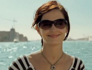 Versace 4061 and the Algerian Love Knot necklace worn by Eva Green in Casino Royale
