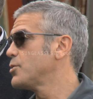 George Clooney with Ermenegildo Zegna SZ3174 sunglasses in The American