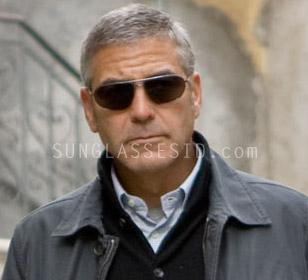 George Clooney wearing Ermenegildo Zegna SZ3174 sunglasses in The American