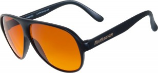 BluBlocker original nylon black sunglasses