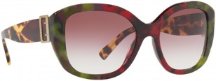 Burberry BE 4248 3638/8H The Buckle Collection Bordeaux Green Tortoise/Violet Gradient