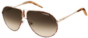 Carrera 44, Gold and Havana frame with brown gradient lenses (J88)