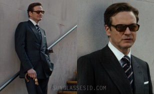 Colin Firth wears Cutler and Gross sunglasses in Kingsman: The Secret Service