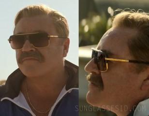 Ray Winstone wears Dita Mach-Four sunglasses in Black Widow.