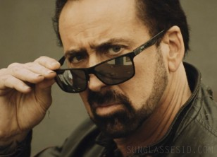 Nicolas Cage wears Duco DC8206 sunglasses in Willy's Wonderland.