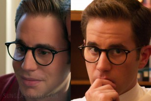 The eyeglasses worn by Ben Platt in the new Netflix series The Politician (2019)