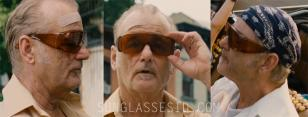 Bill Murray with the oversized fit over shield glasses