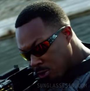 Corey Hawkins wears Gatorz Wraptor sunglasses in the Netflix film 6 Underground (2019).