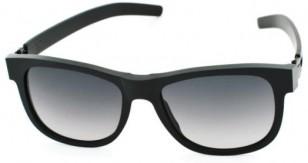ic! berlin Fahrlehrer Klaus black rough with black gradient lenses, A0564002804804311sf