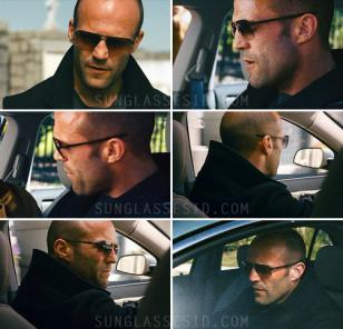 Jason Statham wears ic berlin kjell sunglasses in The Mechanic
