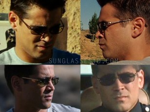 Colin Farrell wears Kenneth Cole sunglasses in the movie S.W.A.T.