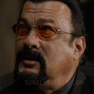 Steven Seagal wears Oakley Whisker sunglasses in the 2016 action film Contract to Kill.