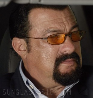 Steven Seagal wears Oakley Whisker glasses in End of a Gun.