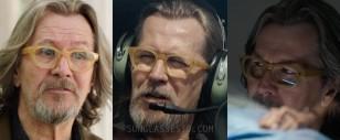 Gary Oldman wearing Old Focals Seeker eyeglasses in The Space Between Us.