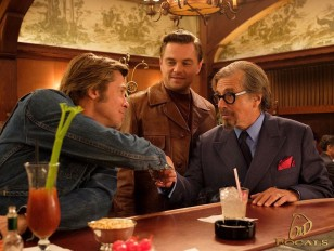 Al Pacino wears Old Focals Architect eyeglasses in the Quentin Tarantino film Once Upon a Time in Hollywood.
