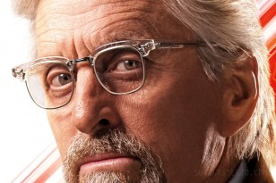 Michael Douglas wears Old Focals Advocate eyeglasses in Ant-Man and The Wasp