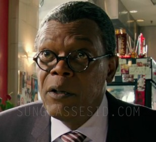 Samuel L. Jackson wearing Old Focals Rounds eyeglasses in XXX: Return of Xander Cage.