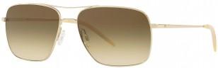Oliver Peoples Clifton OV1150S 503585, gold frame sunglasses