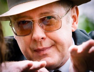 James Spader wears Oliver Peoples Clifton glasses in the series The Blacklist.