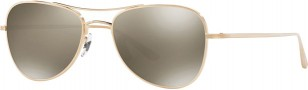 Brushed gold Oliver Peoples The Row Executive Suite sunglasses